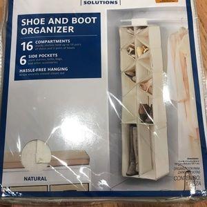 Real Simple Over-the-Door Shoe Organizer